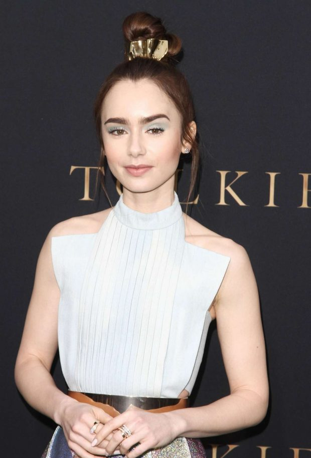 Lily Collins - 'Tolkien' Special Screening in Westwood