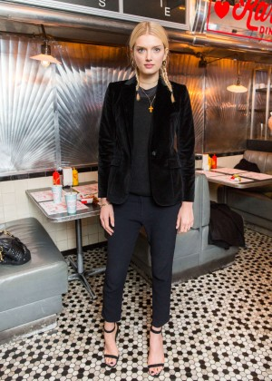 Lily Donaldson - Frame Denim presents 'Karlie's Diner' in New York