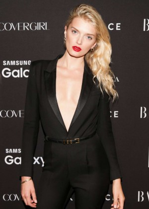 Lily Donaldson - Harpers Bazaar ICONS Event in NY