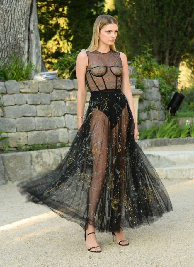 Lily Donaldson – Miss Dior Perfume Launch in Montauroux