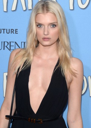 Lily Donaldson - 'Paper Towns' Premiere in NYC