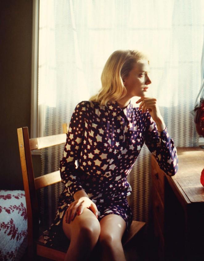 Lily Donaldson - Porter Magazine (Summer 2015)