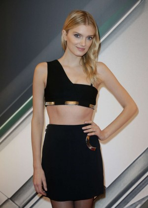 Lily Donaldson - Tasting Night With Galaxy during Paris Fashion Week in Paris