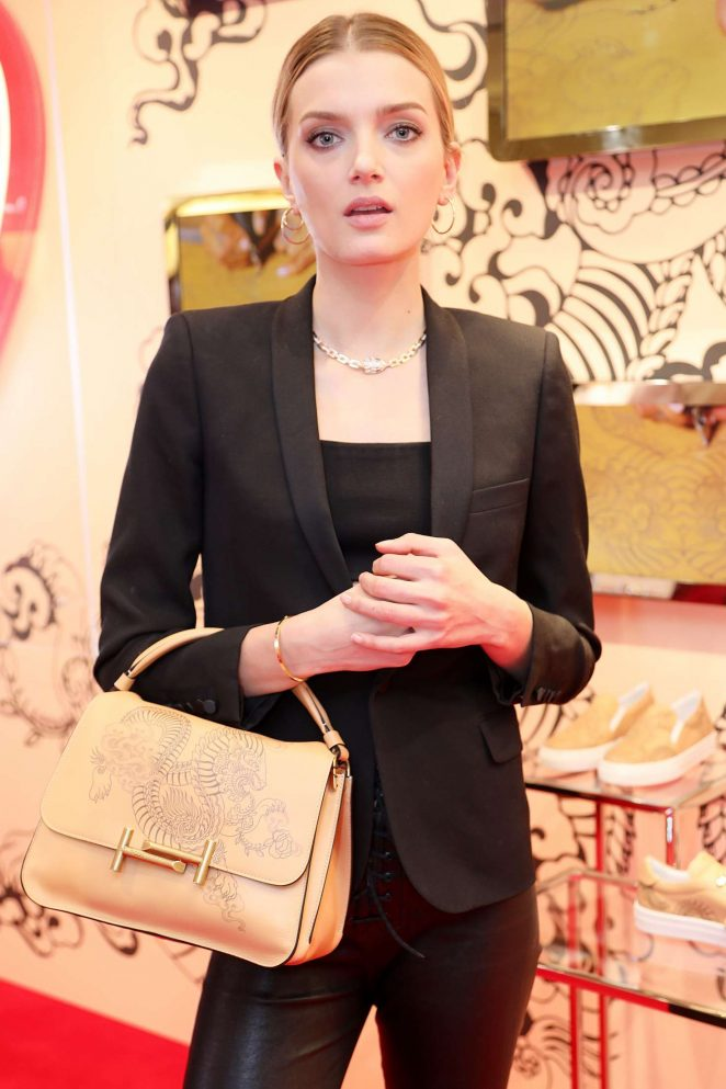 Lily Donaldson – Tod's Store Cocktail AW 2017 in Paris