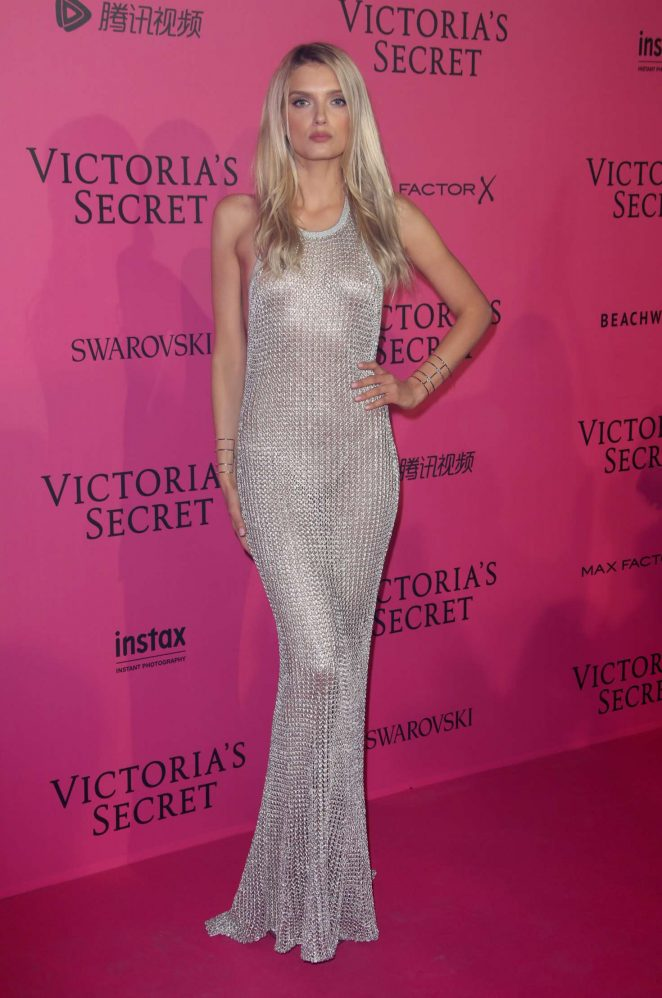 Lily Donaldson - Victoria's Secret Fashion Show 2016 After Party in Paris