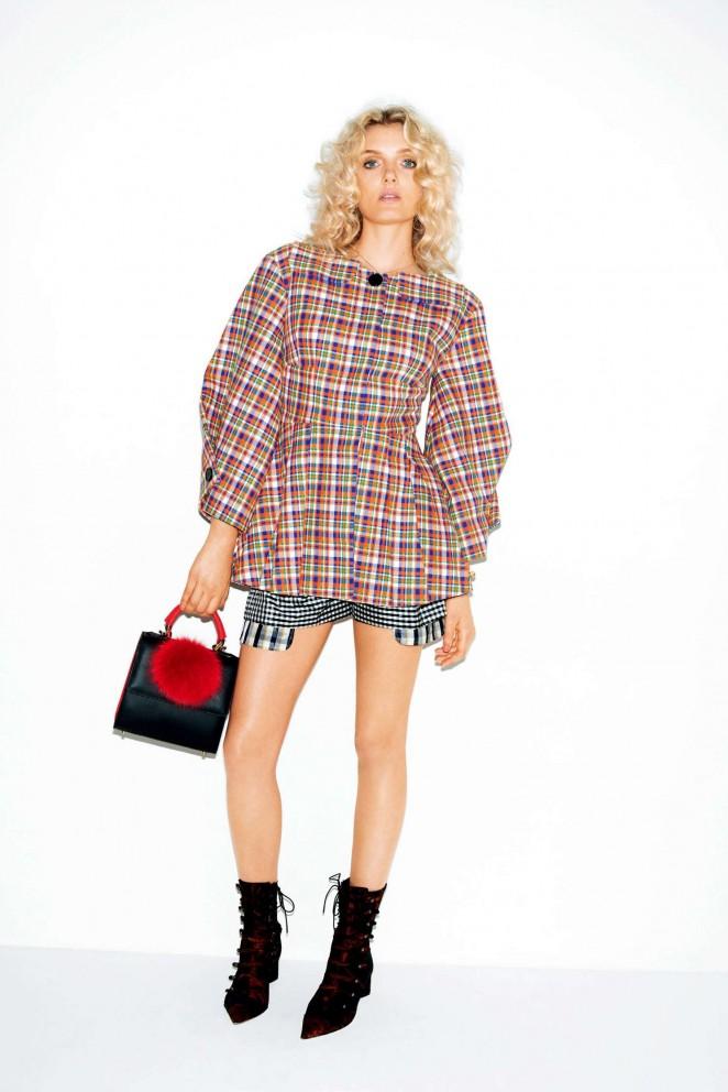 Lily Donaldson - Vogue Japan Magazine (January 2016)