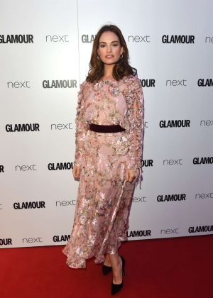 Lily James - 2017 Glamour Women Of The Year Awards in London