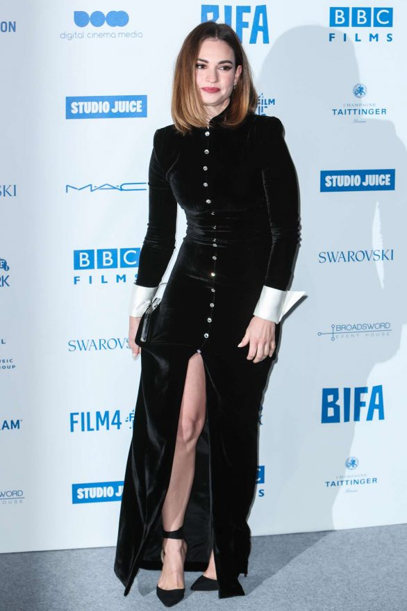 Lily James - 2019 British Independent Film Awards in London