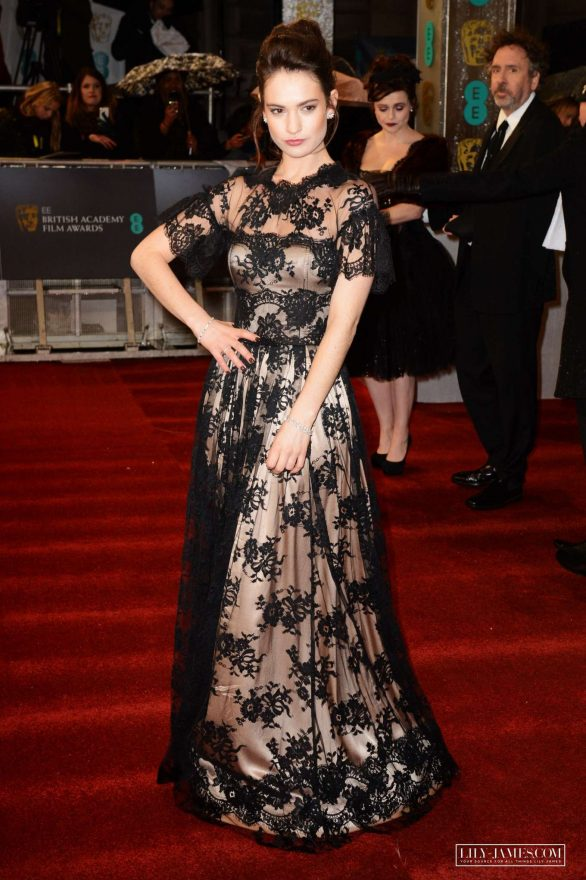 Lily James - 2020 British Academy Film Awards in London