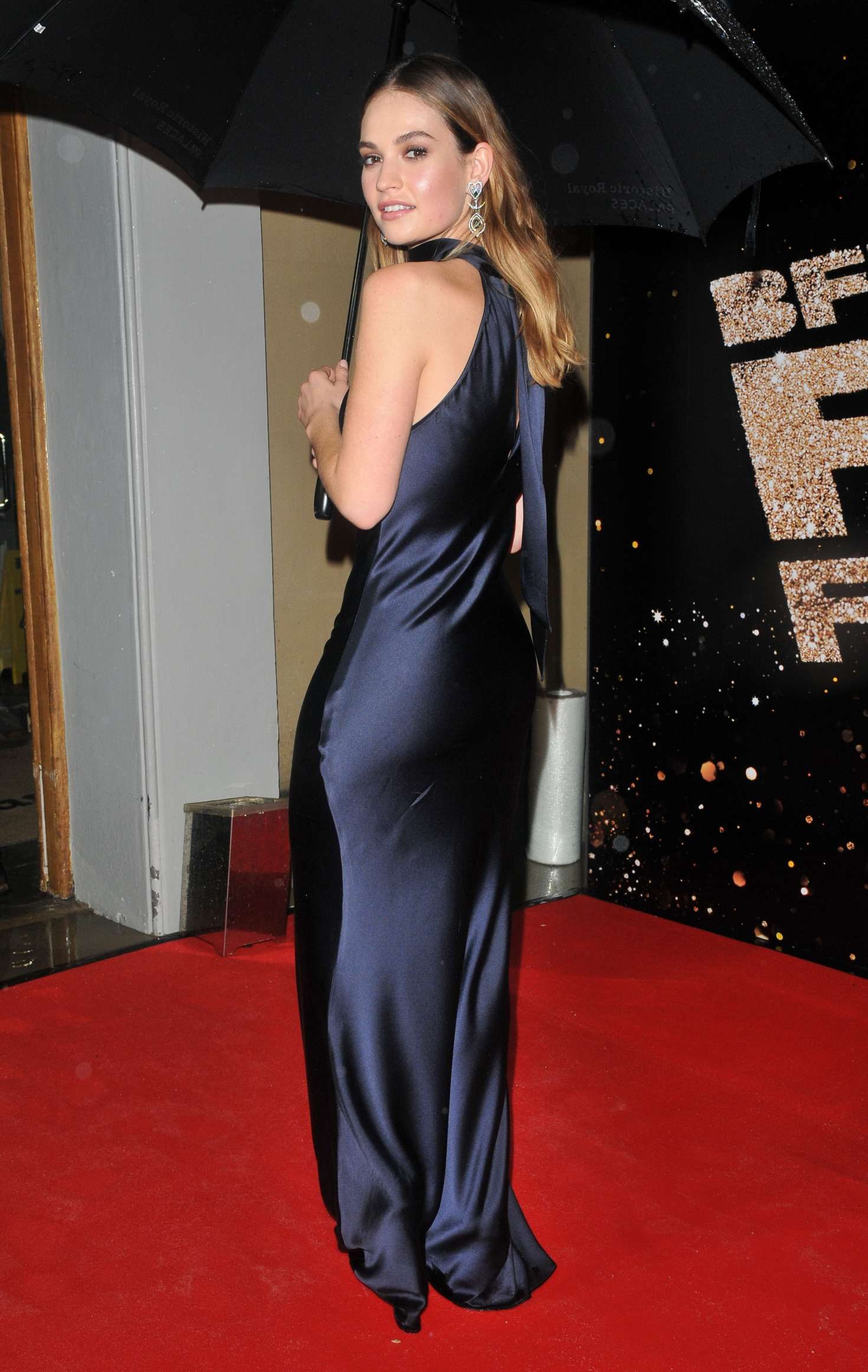 Lily James: 60th BFI L...