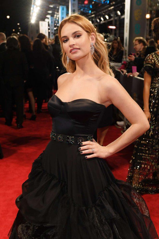 Lily James - 2018 BAFTA Awards in London