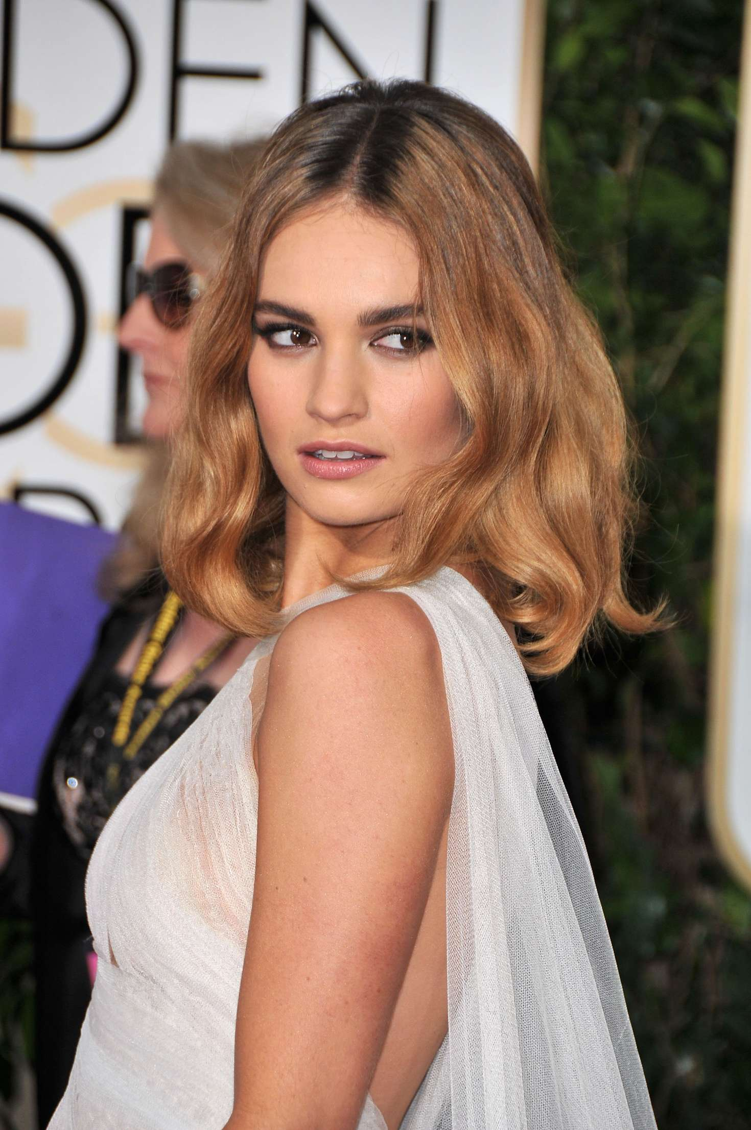 Lily James: 2016 Golde...