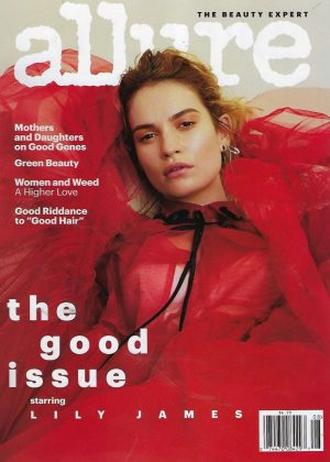 Lily James - Allure Cover Magazine (August 2018)