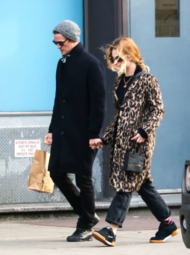 Lily James and Matt Smith out shopping in New York City