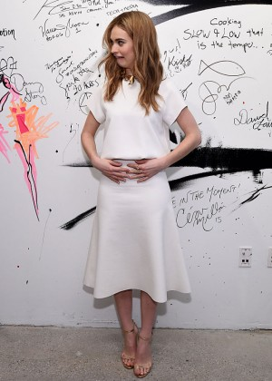 Lily James - AOL BUILD Speaker Series in New York