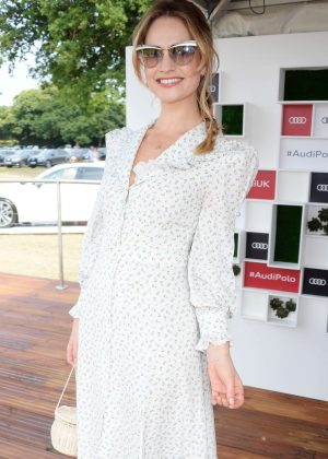 Lily James - Audi Polo Challenge in Berkshire