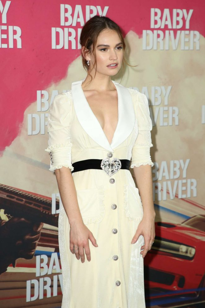 Lily James Baby Driver Premiere In Sydney Gotceleb