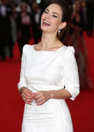 Lily James - BAFTA Celebrates 'Downton Abbey' in Richmond