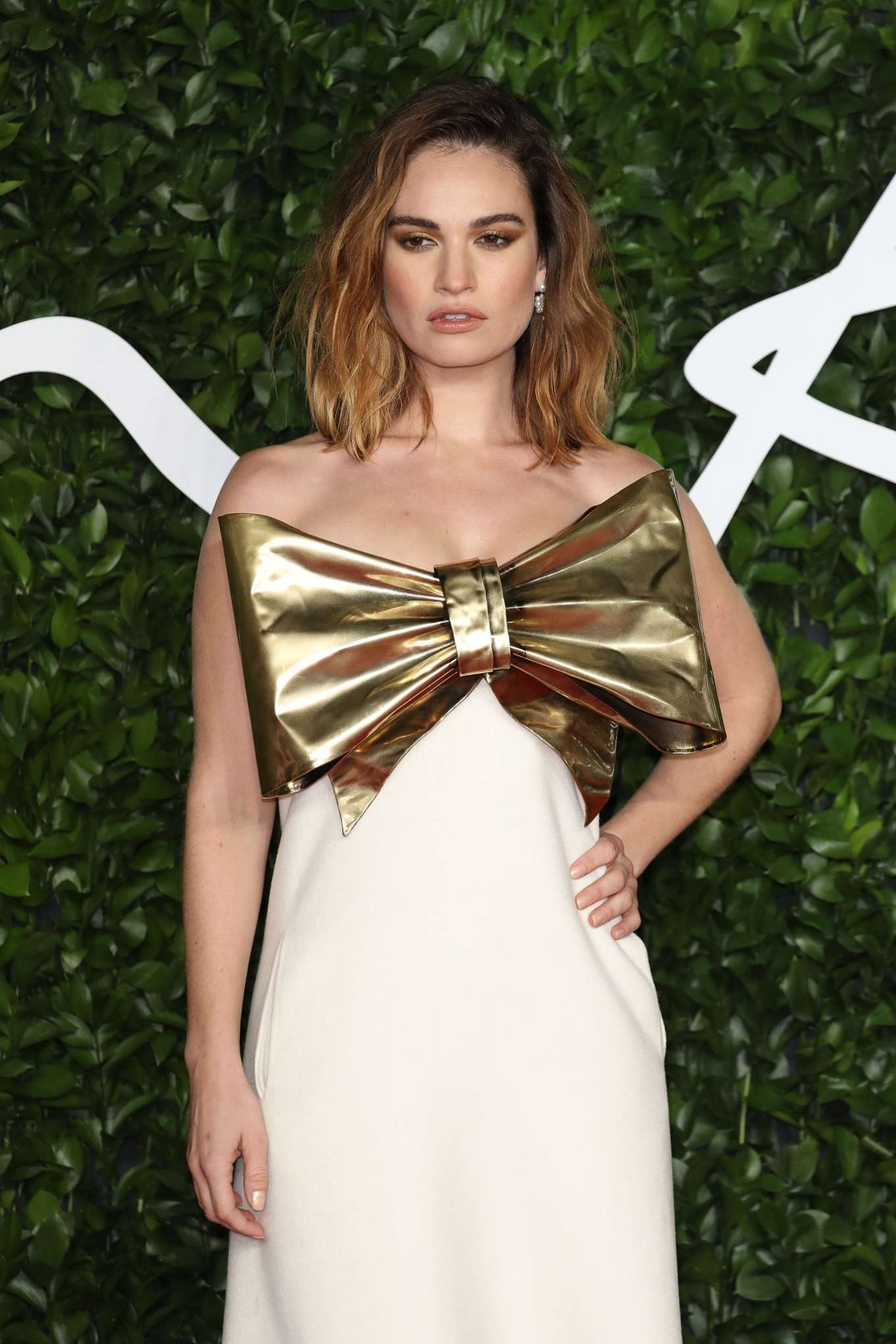 Lily James - Fashion Awards 2019 in London