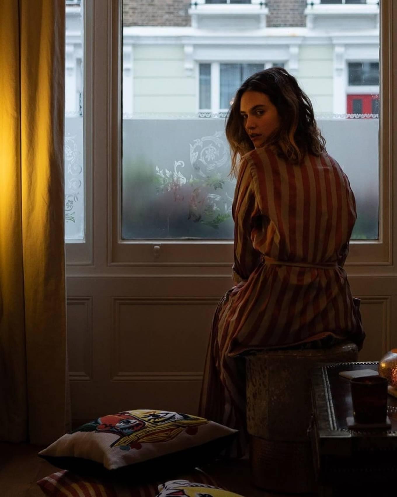 Lily James by Andrea Katzeff Photoshoot 2020