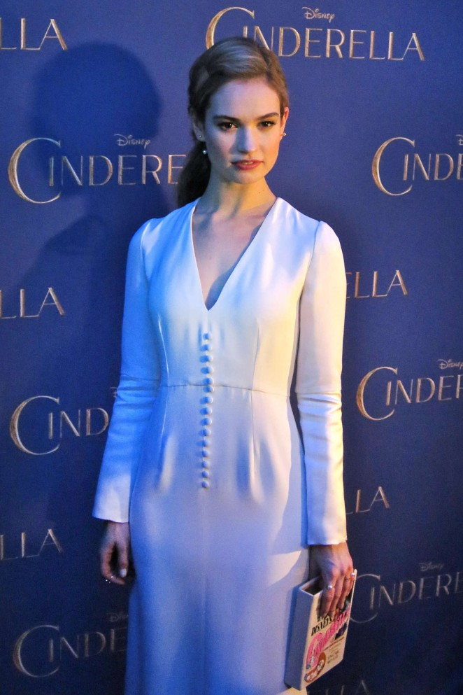 "Lily James - ""Cinderella"" Premiere in Toronto"