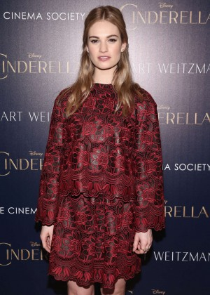 """Lily James - """"Cinderella"""" Private Screening in NYC"""