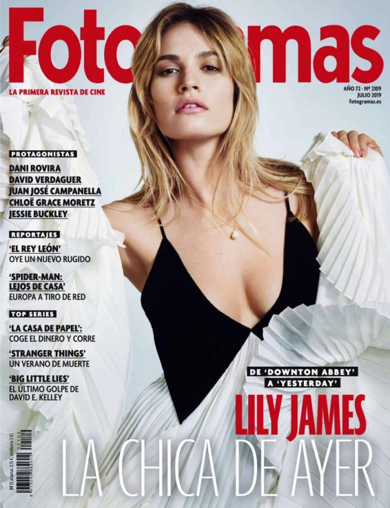 Lily James - Fotogramas Magazine (July 2019)