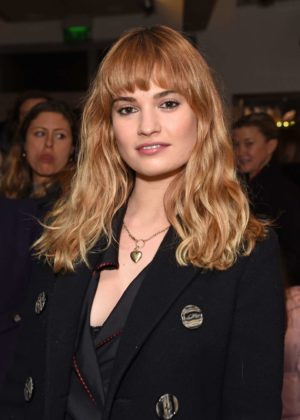 Lily James -  Gala Performance of 'Matthew Bourne's Cinderella' in London