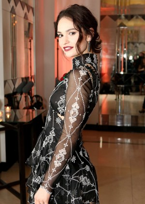 Lily James - Harper's Bazaar Women Of The Year Awards 2015 in London