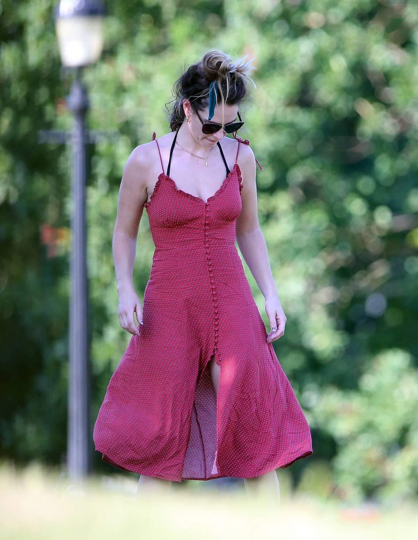 Lily James 2020 : Lily James in Black Bikini 2020-38