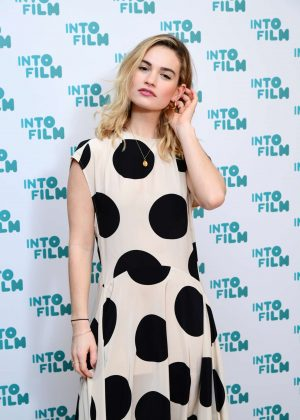 Lily James - Into Film Awards 2019 in London