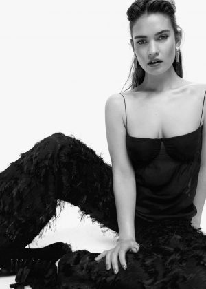 Lily James - L'Officiel Netherlands Magazine (May/June 2018)