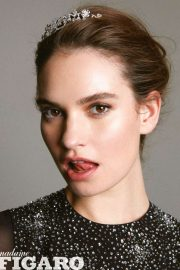 Lily James - Madame Figaro Magazine (China issue)