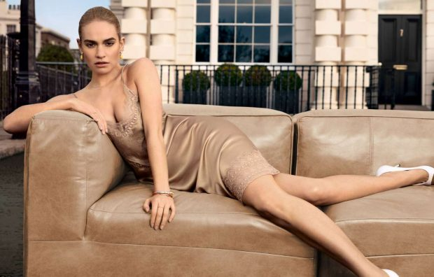 Lily James - My Burberry Fragrance Campaign 2019