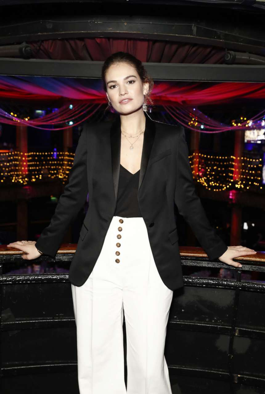 Lily James - National Youth Theatre Fundraising Evening in London
