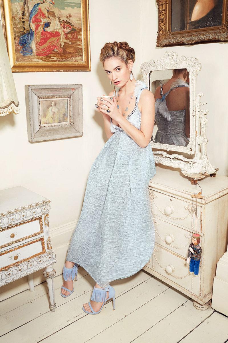 Lily James 2015 : Lily James: New York Post Photoshoot 2015 -05