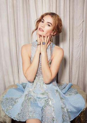 Lily James - New York Post Photoshoot 2015