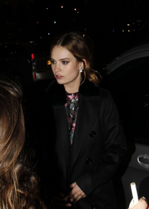Lily James - 'Pride And Prejudice And Zombies' After Party in London