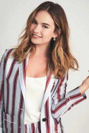 Lily James - Psychologies Magazine (June 2019)