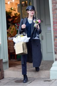 Lily James - Shopping in London