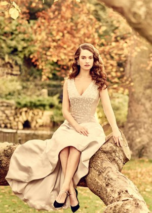 Lily James - Vanity Fair Magazine (March 2015)