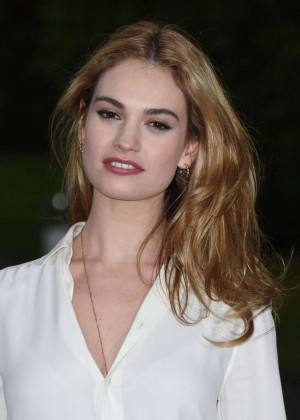 Lily James - Vogue and Ralph Lauren Wimbledon party in London