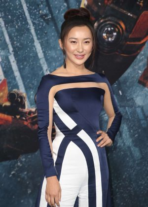 Lily Ji - 'Pacific Rim Uprising' Premiere in Hollywood
