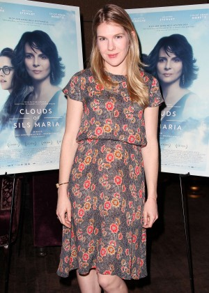 "Lily Rabe - ""Clouds of Sils Maria"" Theater Communtiy Screening in NY"