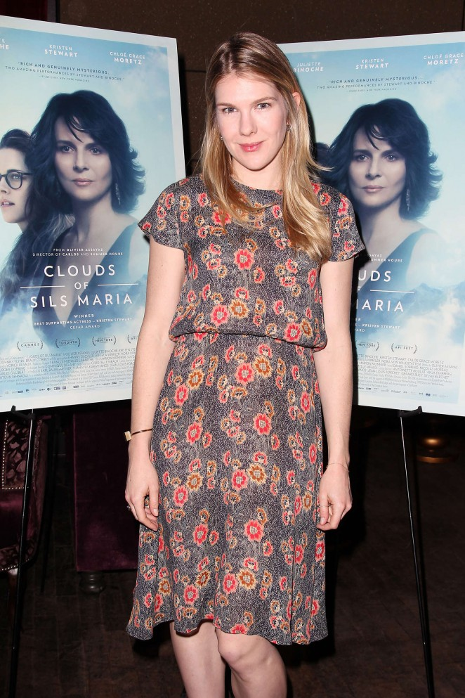 """Lily Rabe - """"Clouds of Sils Maria"""" Theater Communtiy Screening in NY"""