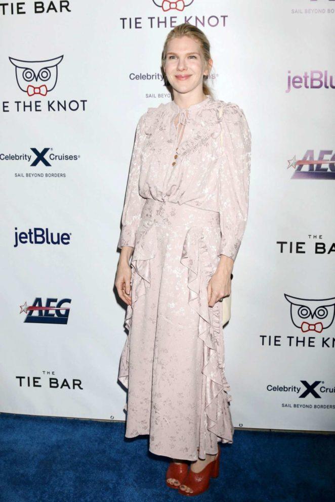 Lily Rabe - Jesse Tyler Ferguson's 'Tie The Knot' Party in LA