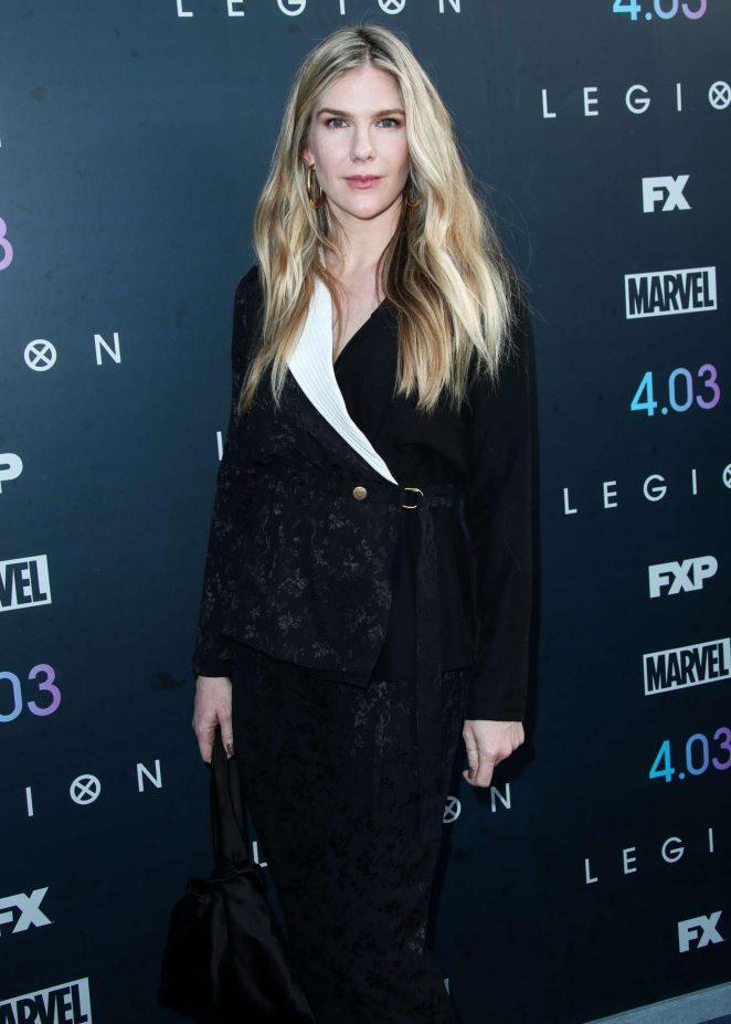 Lily Rabe - 'Legion' Season 2 Premiere in Los Angeles