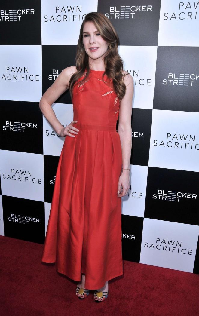 Lily Rabe: Pawn Sacrifice LA Premiere -05