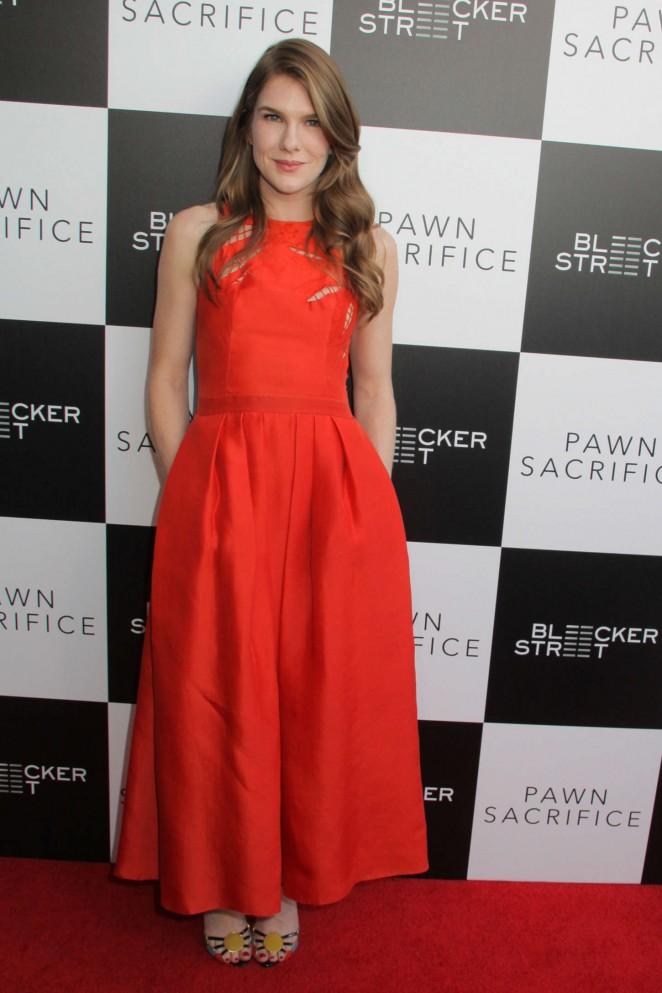 Lily Rabe: Pawn Sacrifice LA Premiere -10