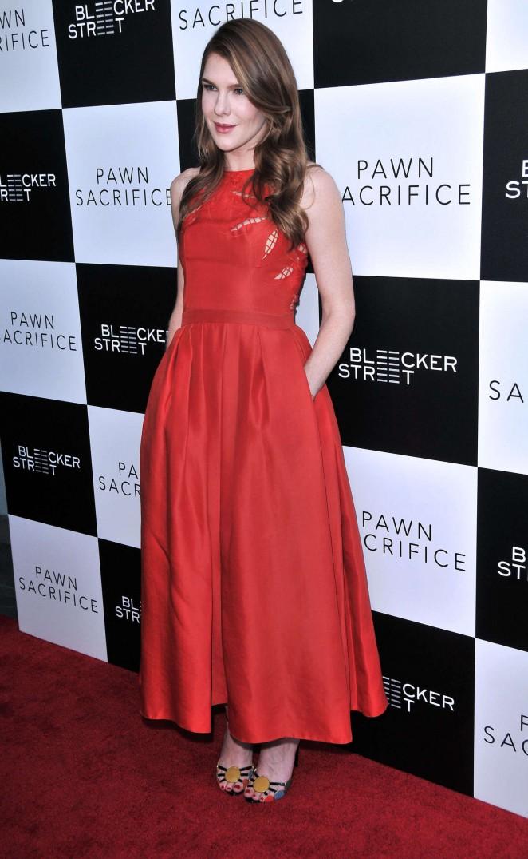 Lily Rabe: Pawn Sacrifice LA Premiere -11